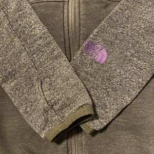 North Face Cinched Waist Sweater